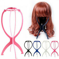 New Folding Plastic Stable Durable Wig Hair Hat Cap Holder Stand Display Tool US