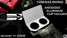 Yamaha Rhino Center Dash Dual Cup Holder anodized Aluminum    Free Shipping