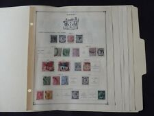 Jamacia 1860-1956 Mint/Used Stamp Collection on Scott Int Album Pages