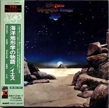 YES Tales from Topographic Oceans JAPAN 1st Press MINI LP 2 CD 1998 AMCY2736/7