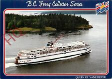 Postcard: BC Ferry Corporation, The Queen Of Vancouver