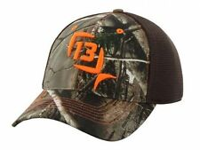 13 Fishing Ice Mr Tucker Realtree Camo Fitted Hunting Hat Cap S/M or L/XL NEW!