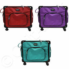"Tutto 20"" Serger on Wheels - Choose from 3 Colors - Carry Bag Sewing Travel Case"