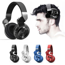 BLUEDIO T2 Wireless Bluetooth 4.1 Stereo Headphones Headsets Stereo Foldable NEW