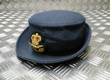 Genuine British WRAF Royal Air Force Pilot / Officers Dress Parade Cap Hat