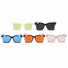 Classic Vintage PC Frame Colorful Lens UV400 Sunglasses Fashion Eyewear BE