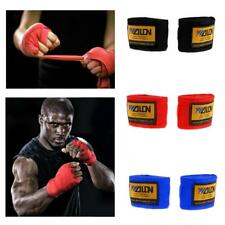 1Pair Hand Wraps Bandages Boxing Inner Gloves Muay Thai MMA Competition Mitts