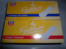 16 PACKS (352 Total RITE AID SCENTED UNSCENTED PANTILINERS PANTY LINERS MINIPADS