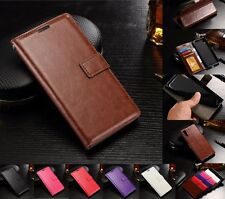 New Luxury PU Leather Flip Wallet Card Cash Stand Cover Case For Sony Xperia XZ
