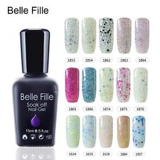 BELLE FILLE Gel Polish Soak-off UV/LED Nail Art 15ml Nail Art US Location