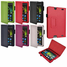 "Smart Leather Stand Case PU Cover For Amazon Kindle Fire HD 7"" 2013 Version"