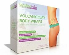 Brazilian Belle Volcanic Clay Body Wraps - Weight Loss, Body Detox, and Slimming