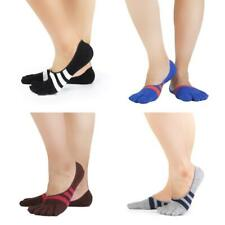 Pair Five Finger Separate Toe Ankle socks Invisible Cotton Sports Running Sock