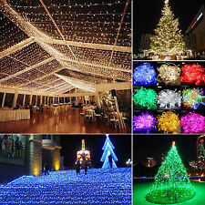 Multi Color 10M/20M LED Bulbs Christmas Fairy Party String Lights Waterproof