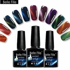 BELLE FILLE Magic 3D Cat Eye Nail Art Gel Polish Soak-off UV/LED 10ml 60 Colors