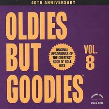 Oldies But Goodies, Vol. 8  Various Artists (CD, Jul-1991, 17 Tracks Brand New!