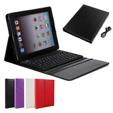Smart Cover Case Bluetooth Wireless Keyboard Stand Protector Case for iPad 2 3 4