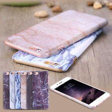 Thin Phone Case Cover Marble Stone Skin Shell for iPhone 6 6s 6 Plus 6s Plus