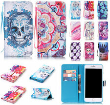 Luxury Vintage Flip Stand Magnetic Wallet PU Leather Case Cover For Apple iPhone