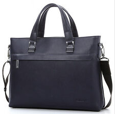 Men's Genuine Leather Business Briefcase Laptop Handbag Messenger Shoulder Bag