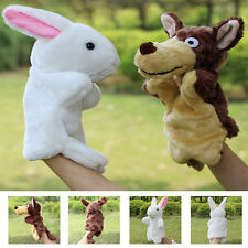 New Family Finger Puppet Cloth Doll Baby Educational Cartoon Animal Hot Hand Toy