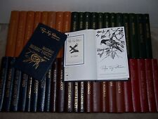 Easton Press Signed Roger Tory Peterson FIELD GUIDES 50 vols The Fifieth Annv Ed