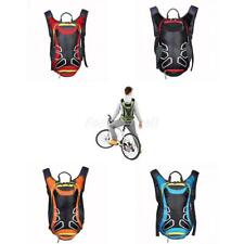 15L Bicycle Cycling Rucksack Backpack Hydration Pack 2.5L Water Bladder Bag