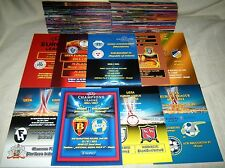 2000 - 2016, UEFA CUPS VARIOUS PROGRAMMES ! MINT CONDITION !