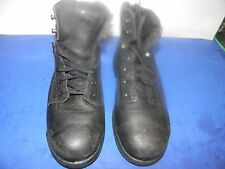 Mens Timberland Pro # 25064  6 inch Steel toe .Boots Black 9 Med