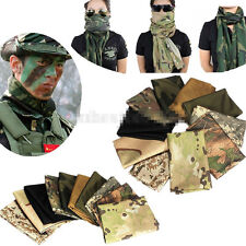 New Hunting Camouflage Scarf Face Veil Sniper Cover Mesh Army Neckerchief