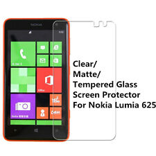 New Clear/ Matte/ Tempered Glass Screen Protector Guard Skin for Nokia Lumia 625