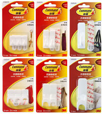 2Sets 3M Command Damage-Free Adhesive Hooks Hangers Home Use FREE SHIPPING