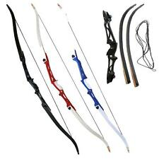 Archery18-40lbs Take Down Alloy Riser Recurve Bow 66'' Training Hunting Target