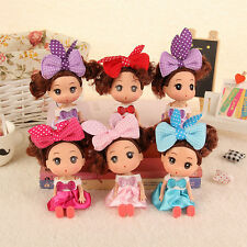1 X 12cm Cute Doll for Mini ddung ddgirl New Year Gift for girls 6 Colors Kids