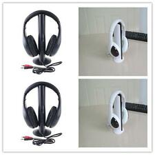 5in1 Wireless Headphone Earphone Cordless Headset for MP3 PC Stereo TV FM iPod T