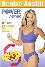 Denise Austin - Power Zone: The Ultimate Metabolism Boosting Workout (DVD, 2004)