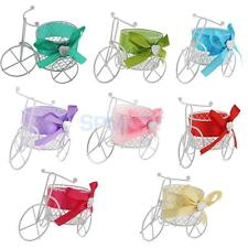 Novelty White Tricycle Metal Candy Chocolate Box Wedding Party Birthday Favor