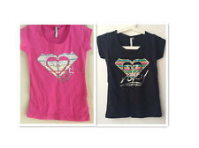 New With Tags Roxy Girl's S/Sleeve Casual Tee T-shirt Top  8 10 12 14(years old)