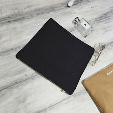 Simple and Stylish Fashion Designed Envelope Canvas Clutches Bag Women's Bag BE