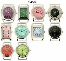 Wholesale Lot of Colored Solid Bar Beading Watch Faces USA Seller
