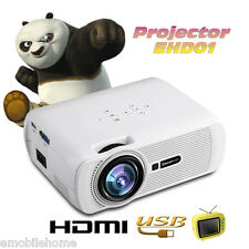 Excelvan MINI portable Multimedia LED LCD Projector 800x480 Home theater Cinema