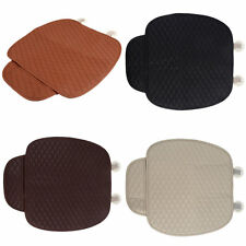 Car Front Seat Cushion Universal Pad Comfort Soft Free Tied Seat Covers BE