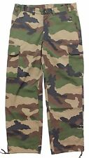 GENUINE FRENCH ARMY COMBAT TROUSERS F2 CCE CAMO LARGER SIZES all UNISSUED