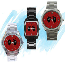 NEW Wrist Watch Stainless Sport Barrel Deadpool