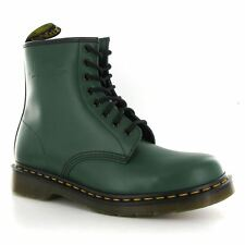 Dr.Martens 1460Z Green Leather Womens Boots