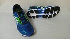 New Asics Mens GEL Nimbus 17 Running Shoes-Style T507N Blue/Green/White 302N lr