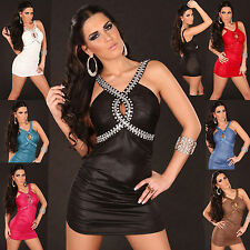 New Sexy women clubbing Mini Dress Ladies Evening Party Top size 6 8 10 12 S M L