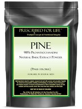 Pine - 98% Proanthocyanadins - Natural Bark Extract Powder (Pinus strobus)
