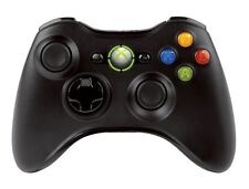 Official Microsoft Xbox 360  Black Wireless Controller