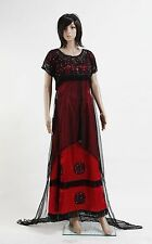 New Titanic Rose Jump Dress Costume Victorian Cosplay Halloween
